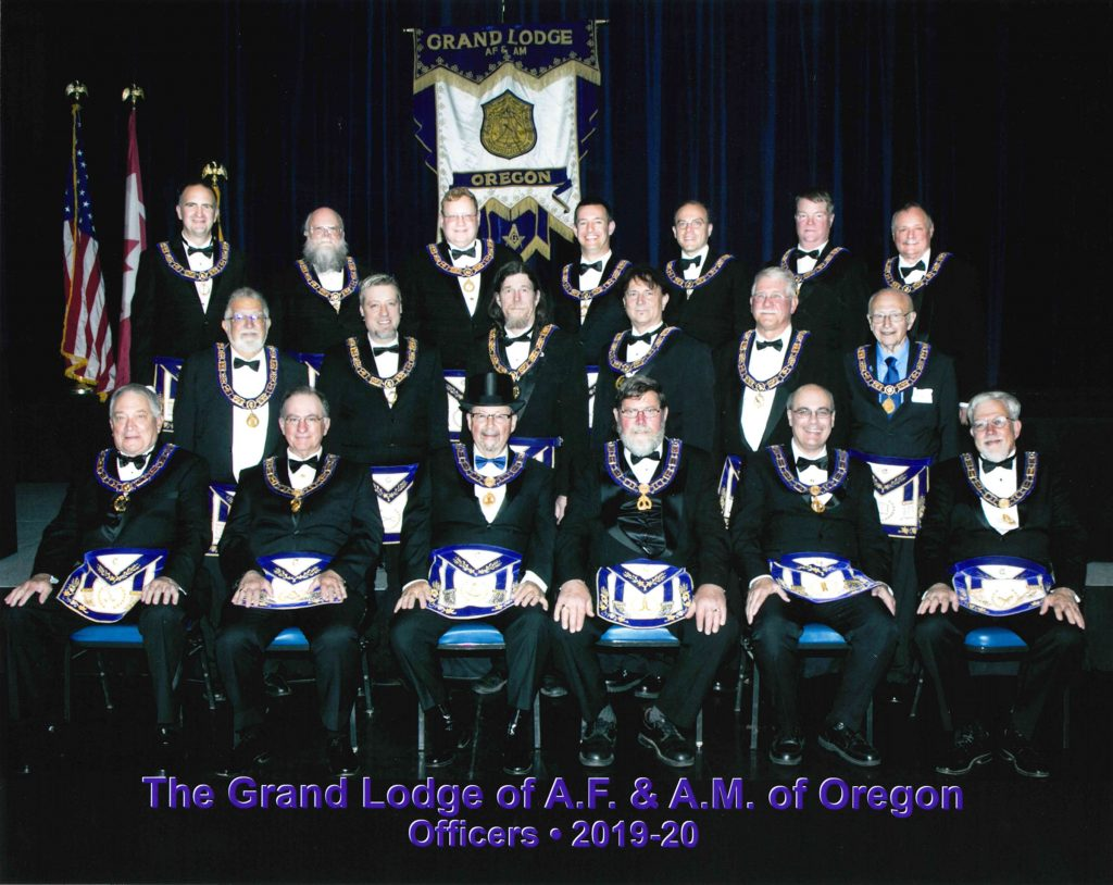 Grand Lodge Officers | Masonic Grand Lodge of Oregon